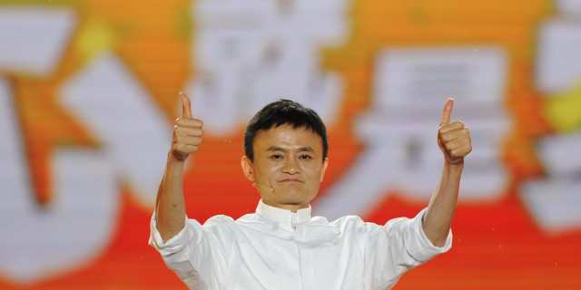 Alibaba сравнялась с