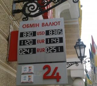 ЗВР Украины сократились