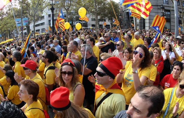 Опрос в Каталонии: 80%