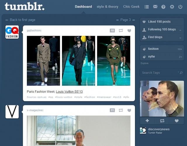 Tumblr хочет увести к