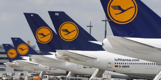 Пилоты Lufthansa вновь