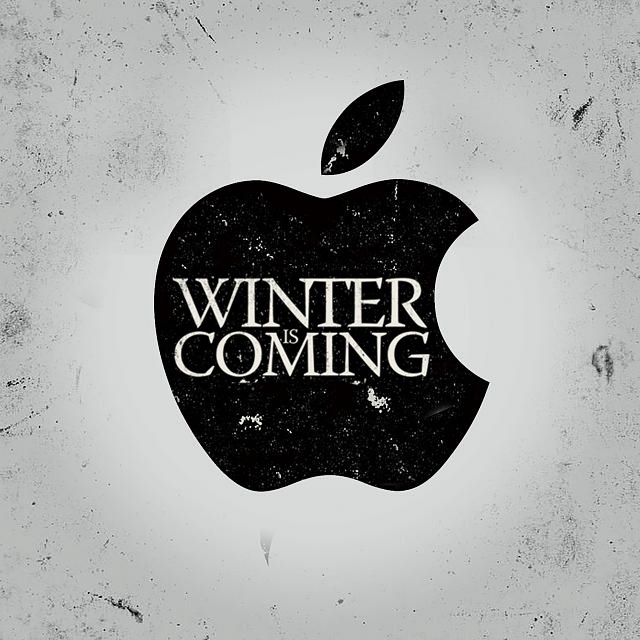 Winter is Coming: Apple