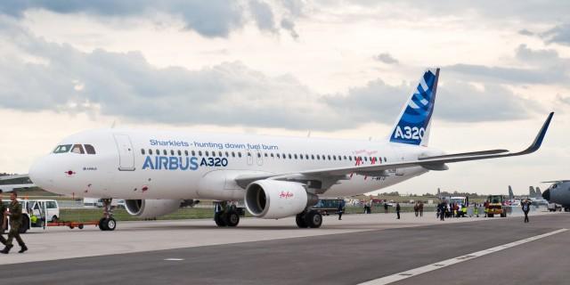 Airbus получил заказы на