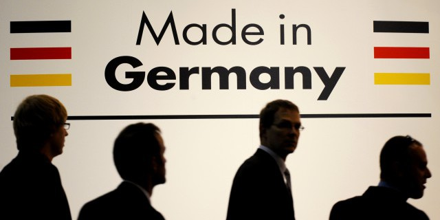 Экспорт Германии упал в