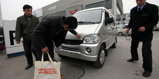 Рост автопродаж в КНР