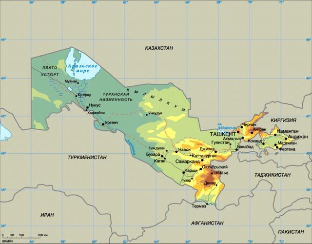 РФ - Узбекистан: