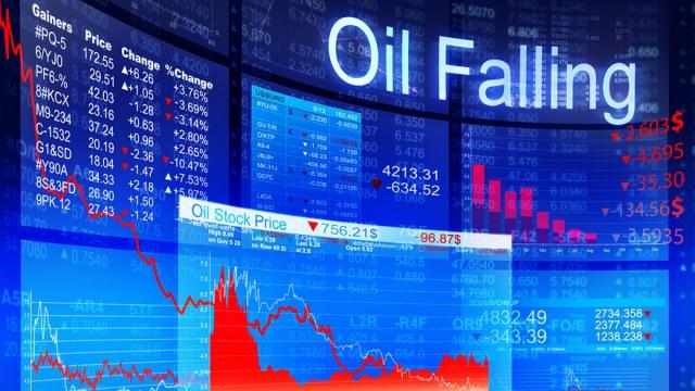 Обвал нефти будет стоить