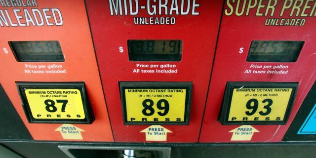 В США цены на бензин