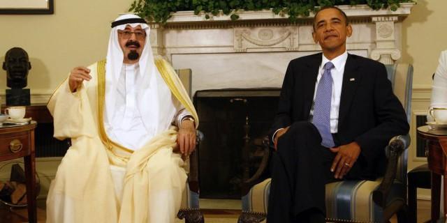 Саудиты и США: заговор