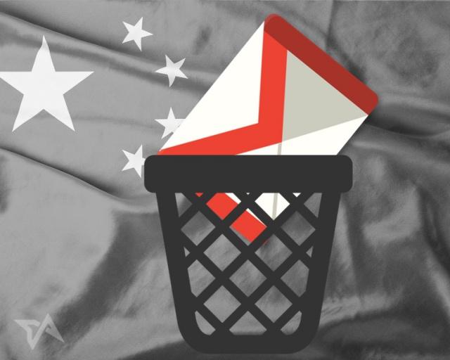 Китай заблокировал Gmail