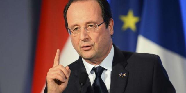 Олланд: санкции должны