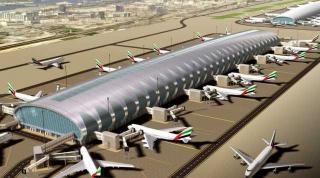 Аэропорт Дубая - самый