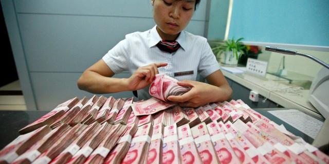 Объем кредитования в КНР