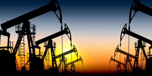 Число нефтяных скважин в