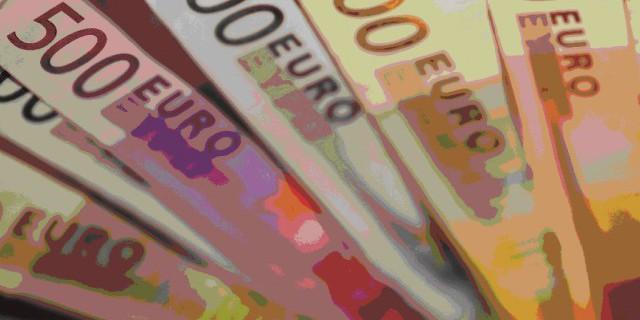 Евро растет на фоне