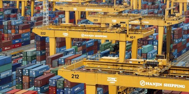Экспорт Южной Кореи упал