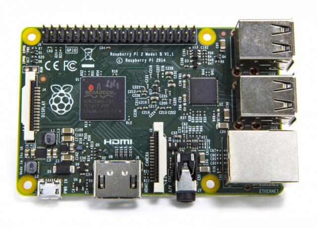 Raspberry Pi 2: к