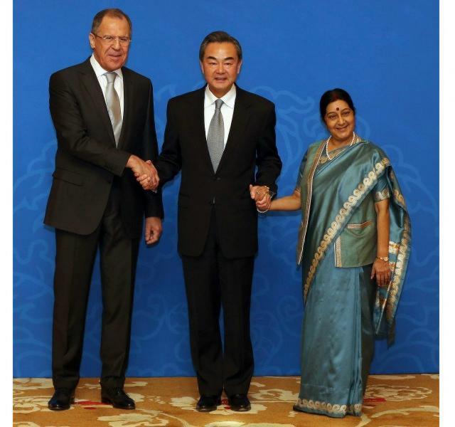 Россия, Индия и Китай