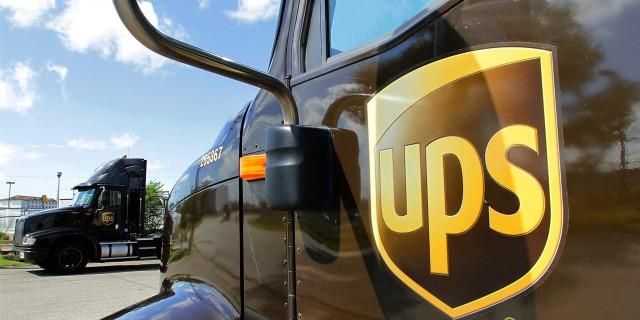 Прибыль UPS в IV