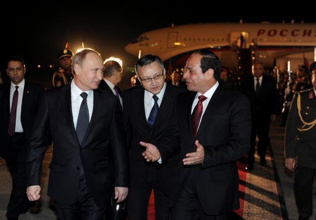 Россия и Египет: