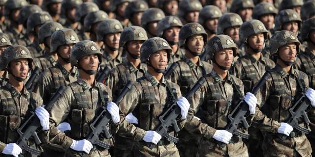Китай увеличит военные