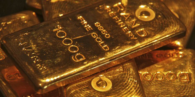 Золото и реальные