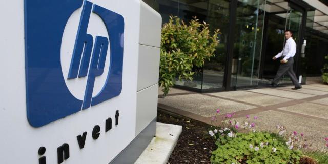 HP продаст активы в