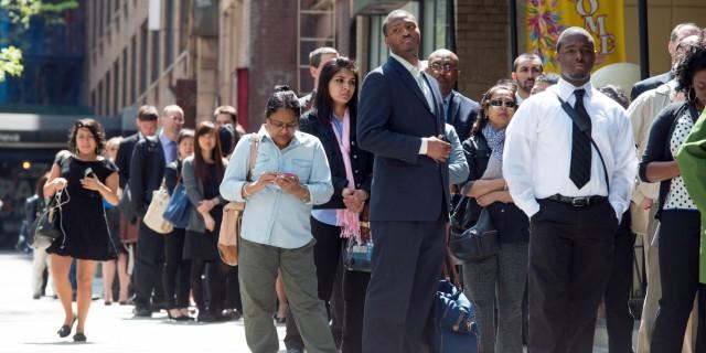Рост занятости в США в