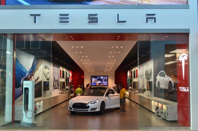 Капитализация Tesla за