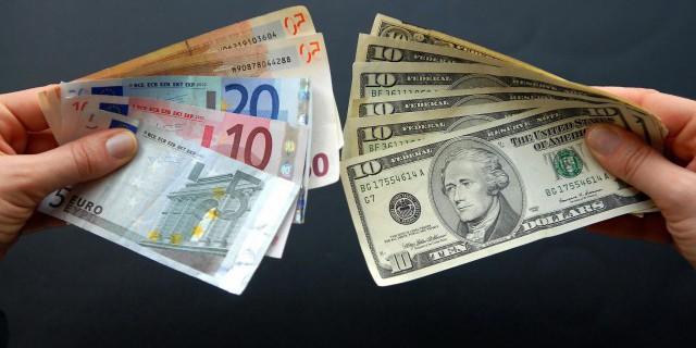 Рубль рвется вверх. Евро