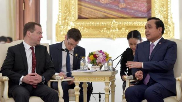 Россия и Таиланд