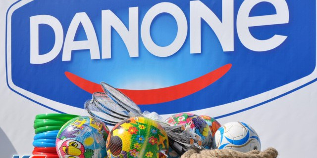 Выручка Danone выросла