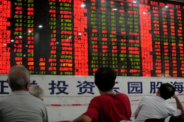 У китайских биржевых