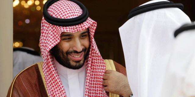 Саудовский король и