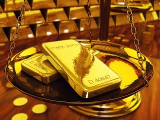 Объем торгов золотом на