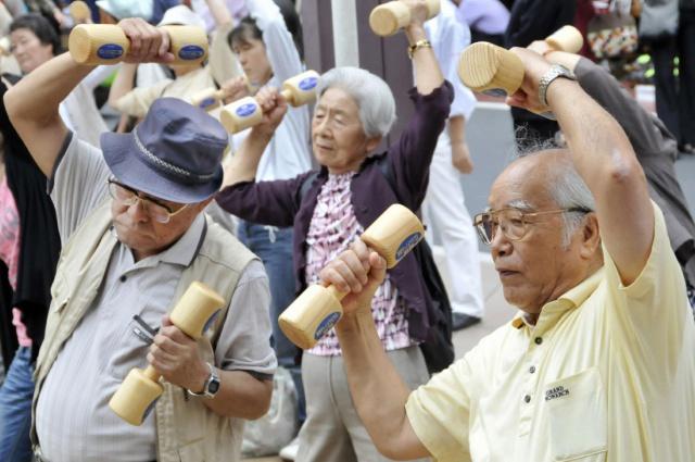 Cтарение населения vs
