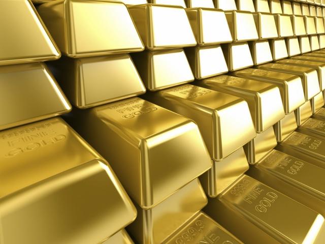 Золото воспользовалось