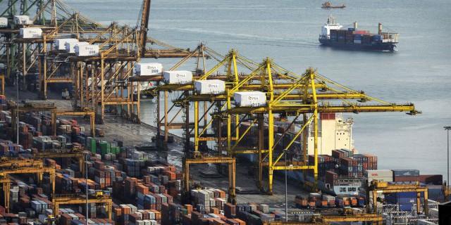 Экспорт Сингапура