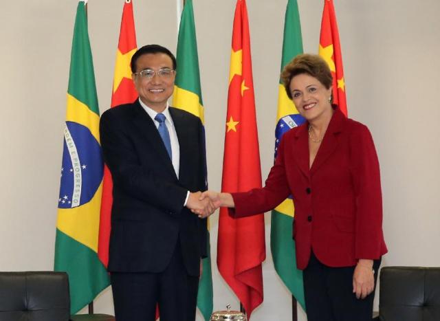 Бразилия и КНР заключили