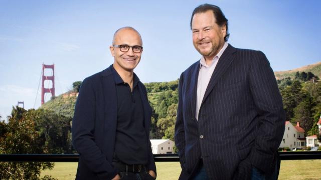 Microsoft и Salesforce