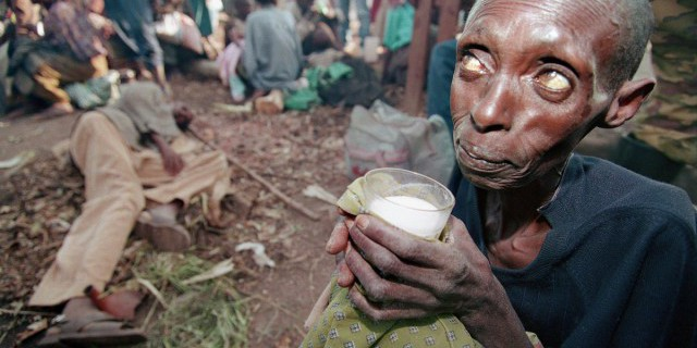 Число голодающих в мире