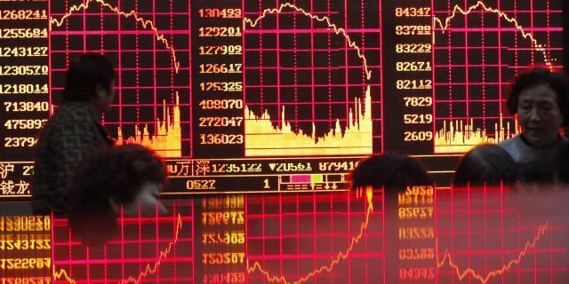 Падение акций в Китае: