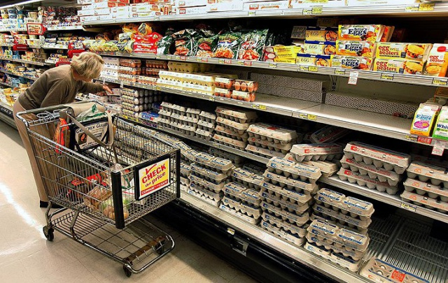 Цены на яйца в США