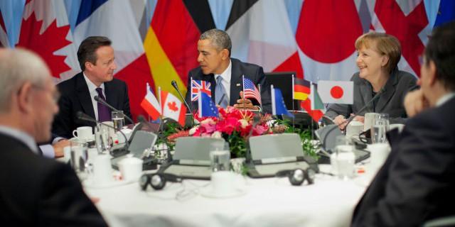 G7 vs Россия: кто