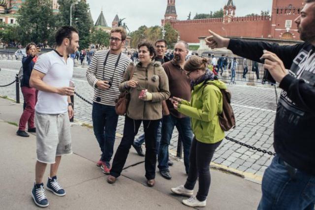 Москву посетило