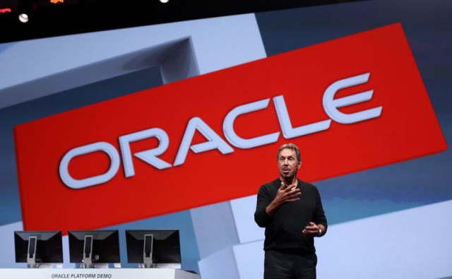 Акции Oracle упали на