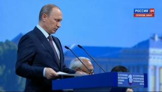 Путин: глубокого кризиса