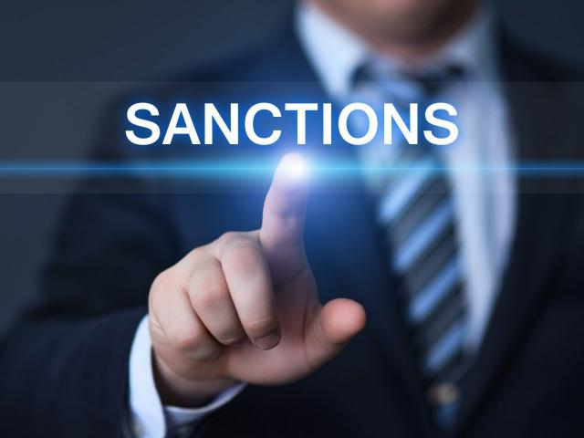 Санкции в действии.