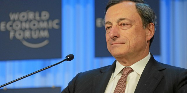 Драги: ЕЦБ продолжит