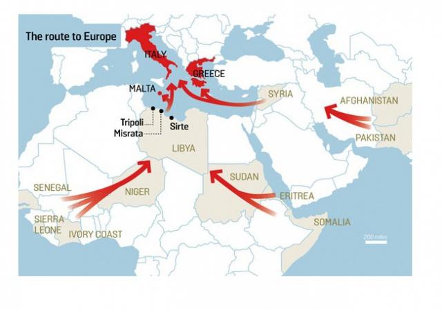 Как беженцы попадают в европу через россию